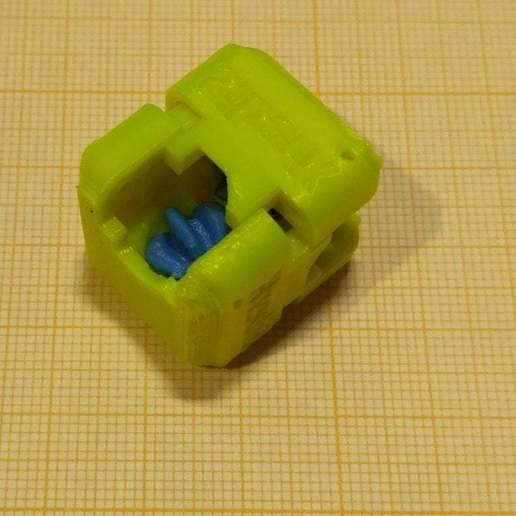 pic-20190427_125136_cr.jpg Télécharger fichier STL gratuit Un cube de flipper avec un équipement intérieur. • Objet à imprimer en 3D, SiberK