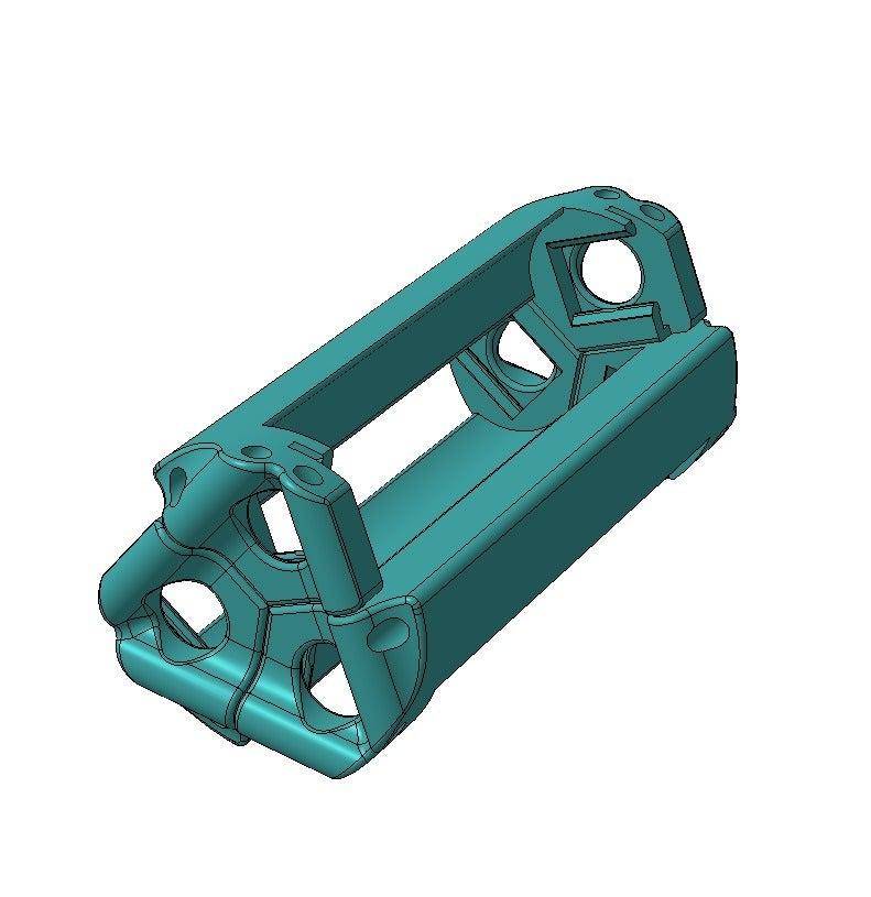 _14500_M.png Download free STL file Battery holder for 3x 14500, AA • 3D printer template, SiberK