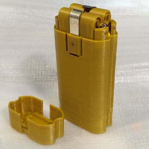 pic-20170801121707_cr.jpg Télécharger fichier STL gratuit Adaptateur de batterie 18650 pour tournevis. • Plan à imprimer en 3D, SiberK