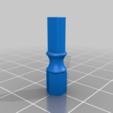Shaft1_6a.png Télécharger fichier STL gratuit Remix du support de roulement IQBX • Modèle à imprimer en 3D, SiberK