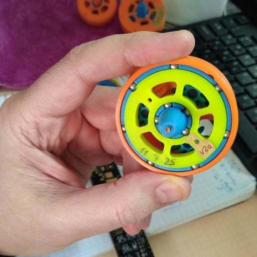 """pic-20190417_120311cr.jpg Télécharger fichier STL gratuit """"Toupie """"mécanique • Plan pour imprimante 3D, SiberK"""