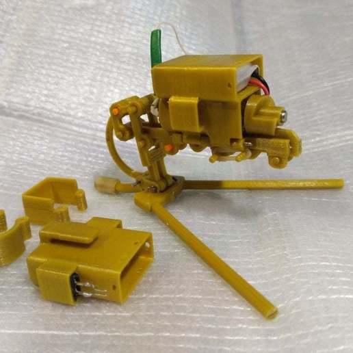 pic-20170822191915.jpg Télécharger fichier STL gratuit Botte de puces. (Блоха механическая) • Plan à imprimer en 3D, SiberK