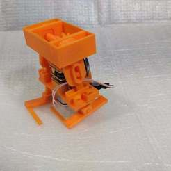 Download free 3D printer designs Walker Bot Chassis, SiberK