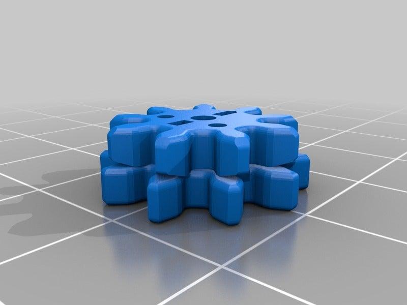 """9419cd8e78e8994f364bc4dfbf9ee344.png Télécharger fichier STL gratuit """"Toupie """"mécanique • Plan pour imprimante 3D, SiberK"""