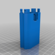 Download free STL files 18650 battery adapter for screwdriver., SiberK