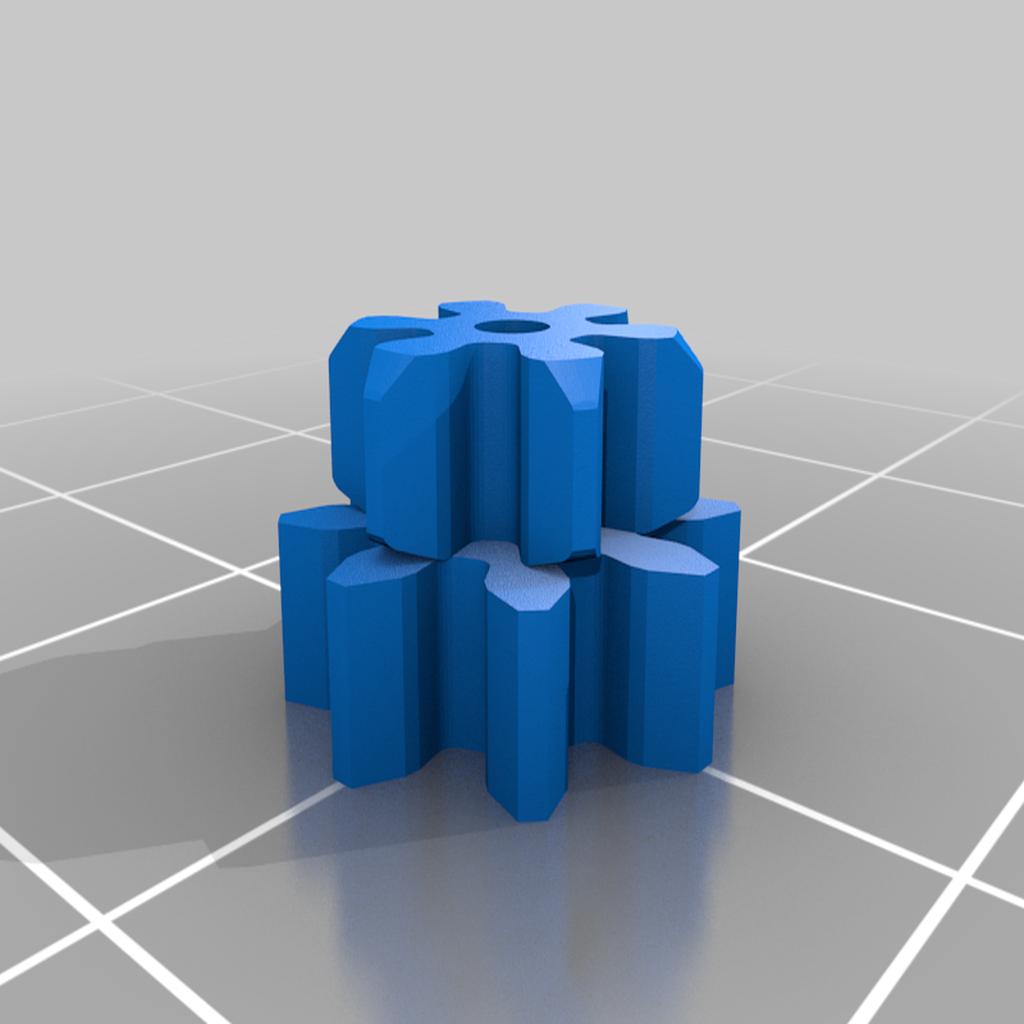 Sat_8_6.png Télécharger fichier STL gratuit Vernier (Boîte à engrenages planétaires) • Plan pour impression 3D, SiberK