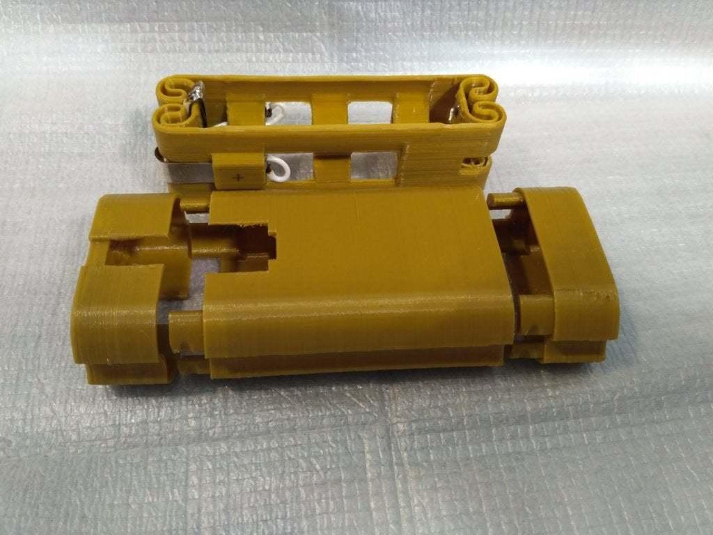 pic-20170801122449.jpg Télécharger fichier STL gratuit Adaptateur de batterie 18650 pour tournevis. • Plan à imprimer en 3D, SiberK