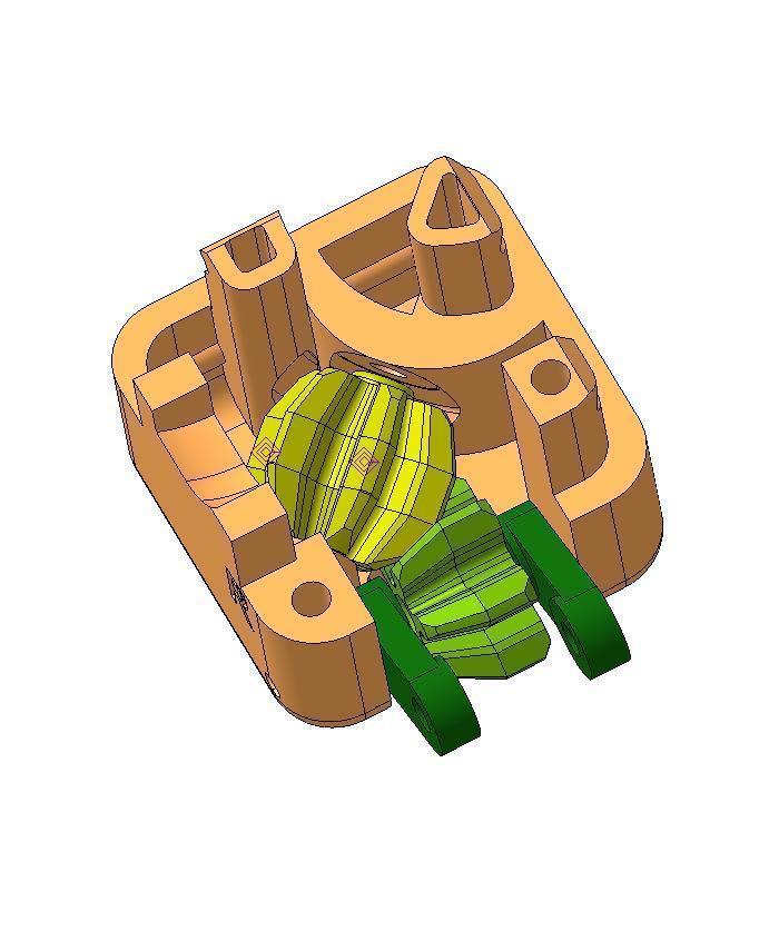 _Cube.jpg Télécharger fichier STL gratuit Un cube de flipper avec un équipement intérieur. • Objet à imprimer en 3D, SiberK
