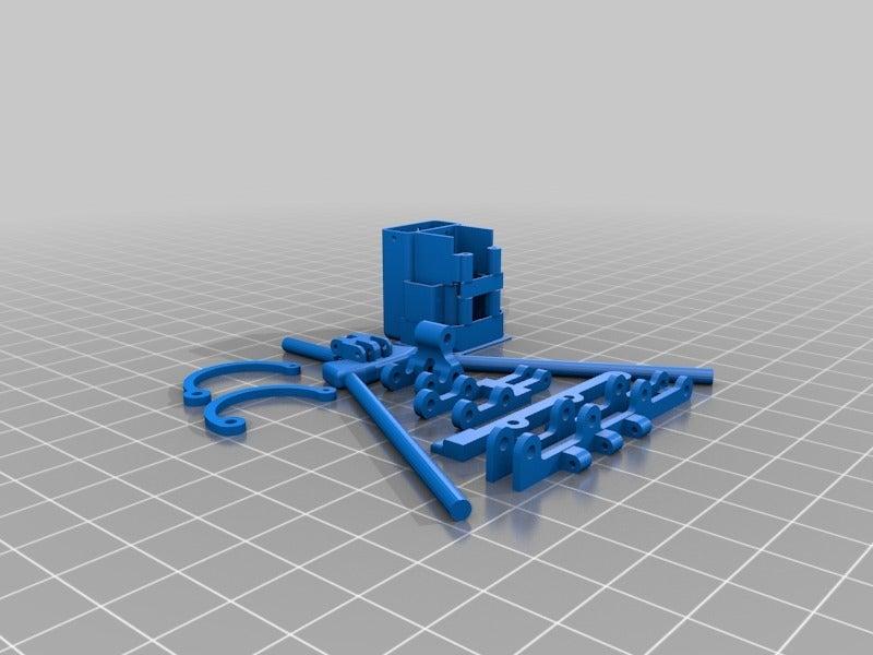1147ab87d7c2794403d269366fb9e2e5.png Télécharger fichier STL gratuit Botte de puces. (Блоха механическая) • Plan à imprimer en 3D, SiberK