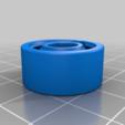Télécharger fichier STL gratuit Roulement à double rangée de billes 8mm x 22mm x 10mm (4,5 BB en acier) • Modèle imprimable en 3D, SiberK
