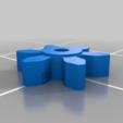 Download free 3D printer files Spinning top Life Counter (stackable)., SiberK