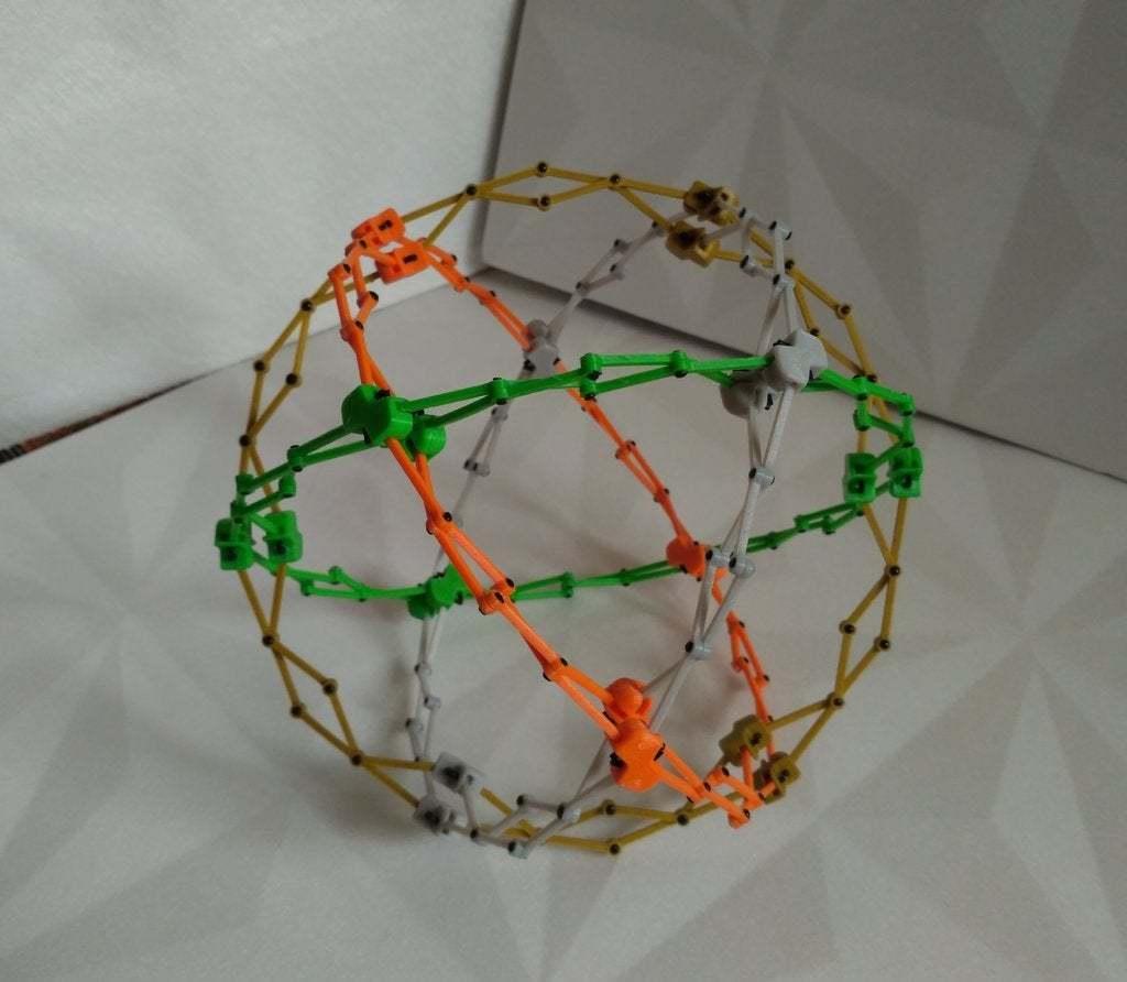 pic-20170728114151_cr.jpg Télécharger fichier STL gratuit Sphère hobermanique ( Cuboctaèdre ) • Design pour imprimante 3D, SiberK