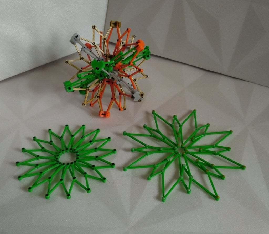 pic-20170728114354_cr.jpg Télécharger fichier STL gratuit Sphère hobermanique ( Cuboctaèdre ) • Design pour imprimante 3D, SiberK