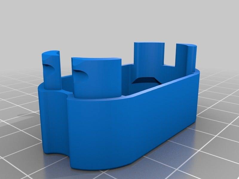 5de072584cbe00daecd7c5b7e30c515f.png Télécharger fichier STL gratuit Adaptateur de batterie 18650 pour tournevis. • Plan à imprimer en 3D, SiberK