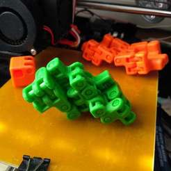 Download free 3D printing templates Kobayashy Fidget Cube Simplified v3, SiberK
