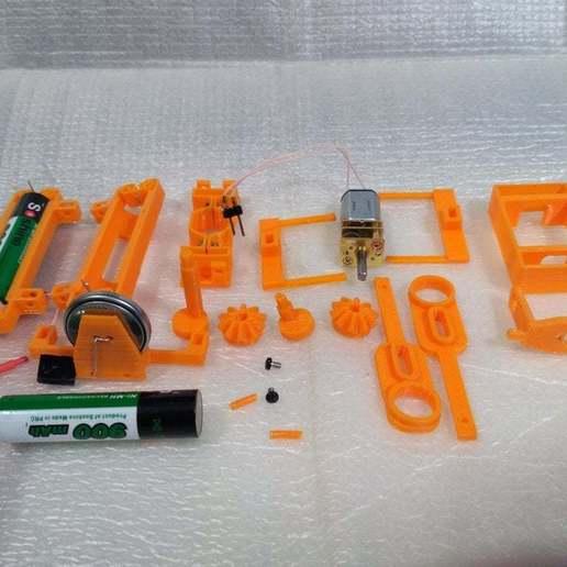 pic-20170524181259.jpg Télécharger fichier STL gratuit Châssis du robot Walker • Design à imprimer en 3D, SiberK