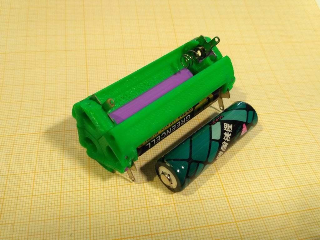 pic-20190701_175046.jpg Download free STL file Battery holder for 3x 14500, AA • 3D printer template, SiberK