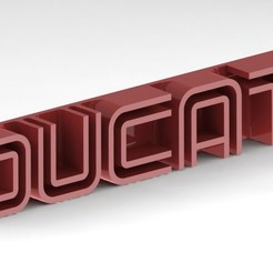 Download free STL file Ducati logo old style • 3D printer template, gg3d66