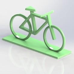 Download free STL file Logo Bike  • Model to 3D print, gg3d66
