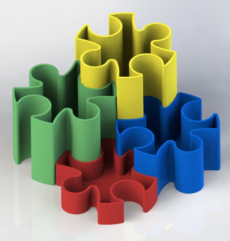 Puzzle_a.JPG Download free STL file Puzzle • 3D print template, gg3d66
