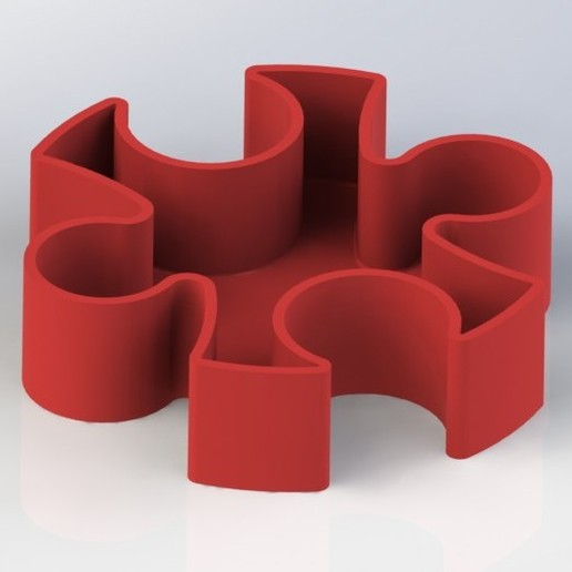 Puzzle_c.JPG Download free STL file Puzzle • 3D print template, gg3d66