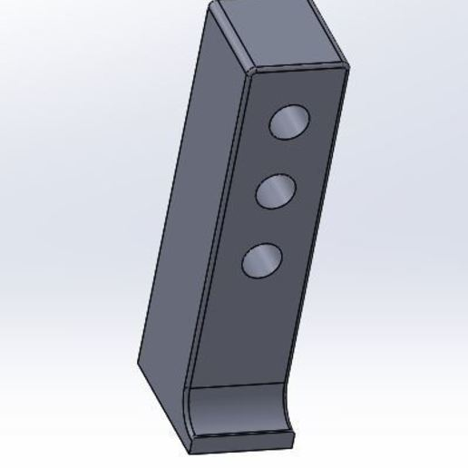 Download free 3D printing designs Tamiya Group C Servo D4 support., juleo68
