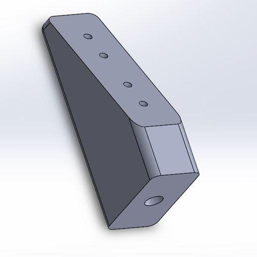 Download free 3D printer designs Team Associated Servo Mounting Block #8435, juleo68