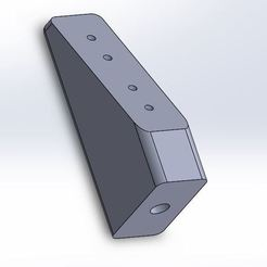 Download free 3D printer designs Team Associated Servo Mounting Block #8435, juleo68