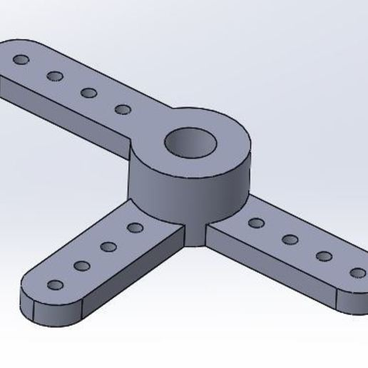 Download free 3D printer designs Throttle / Brake (3 arms / Offset) Futura 111, juleo68
