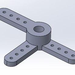 Download free STL file Throttle / Brake (3 arms / Offset) Futura 111 • Design to 3D print, juleo68