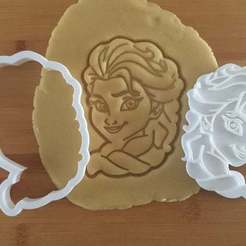 Download 3D printing models Frozen cookie cutter set of 4, roxenstencil