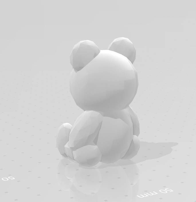 LP_beer_02.png Download STL file Low poly Teddy bear • 3D print template, eAgent
