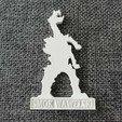 IMG_20200725_121126.jpg Download STL file Smok Wawelski • 3D printer model, eAgent
