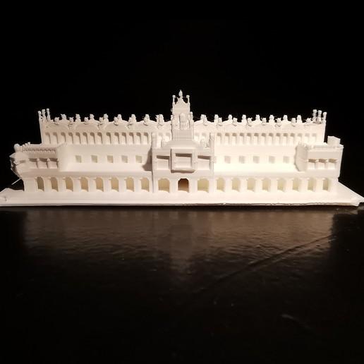 Sukiennice_05.jpg Download STL file Sukiennice - Kraków Cloth Hall • 3D printable design, eAgent