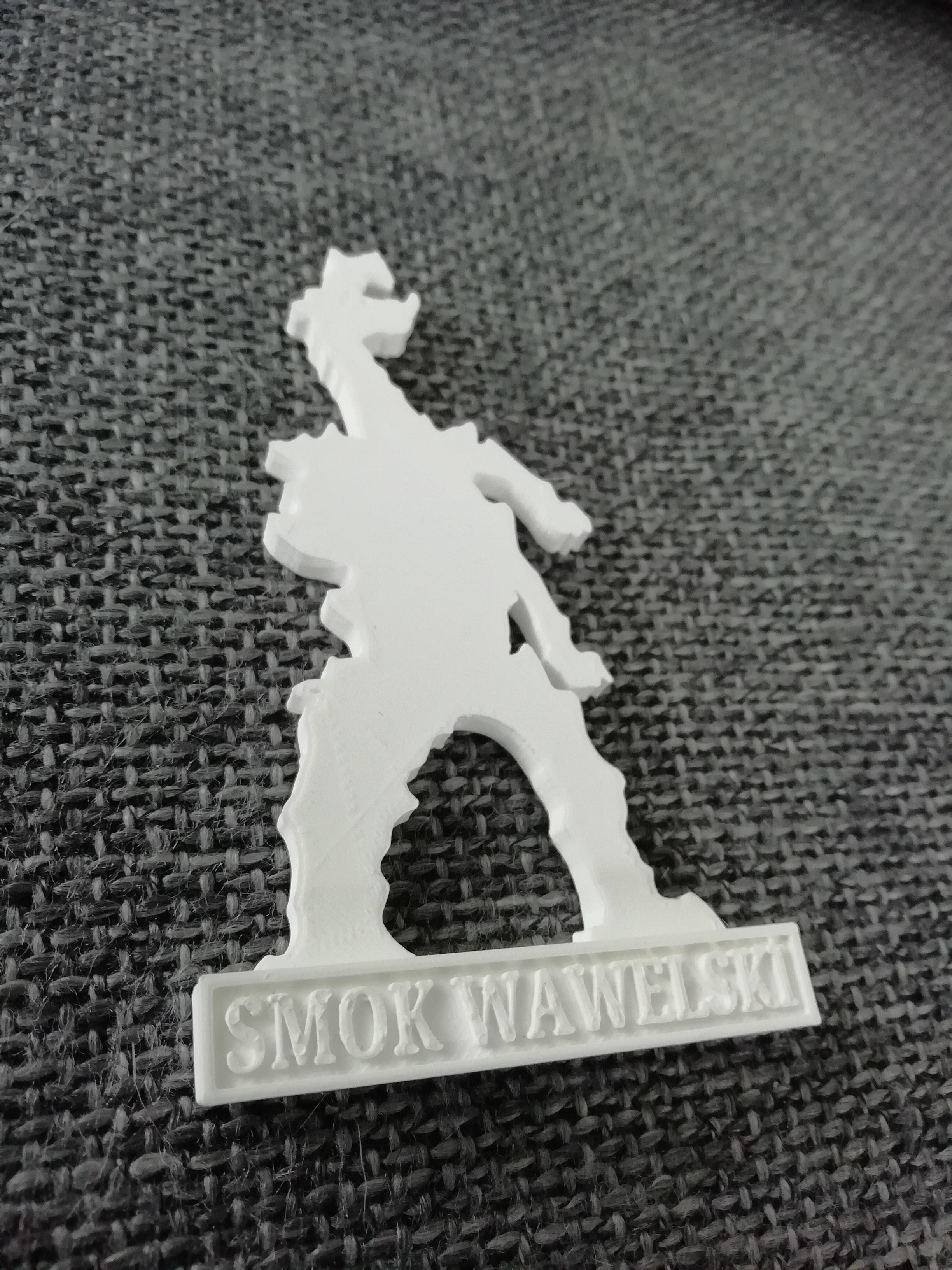 IMG_20200725_121409.jpg Download STL file Smok Wawelski • 3D printer model, eAgent