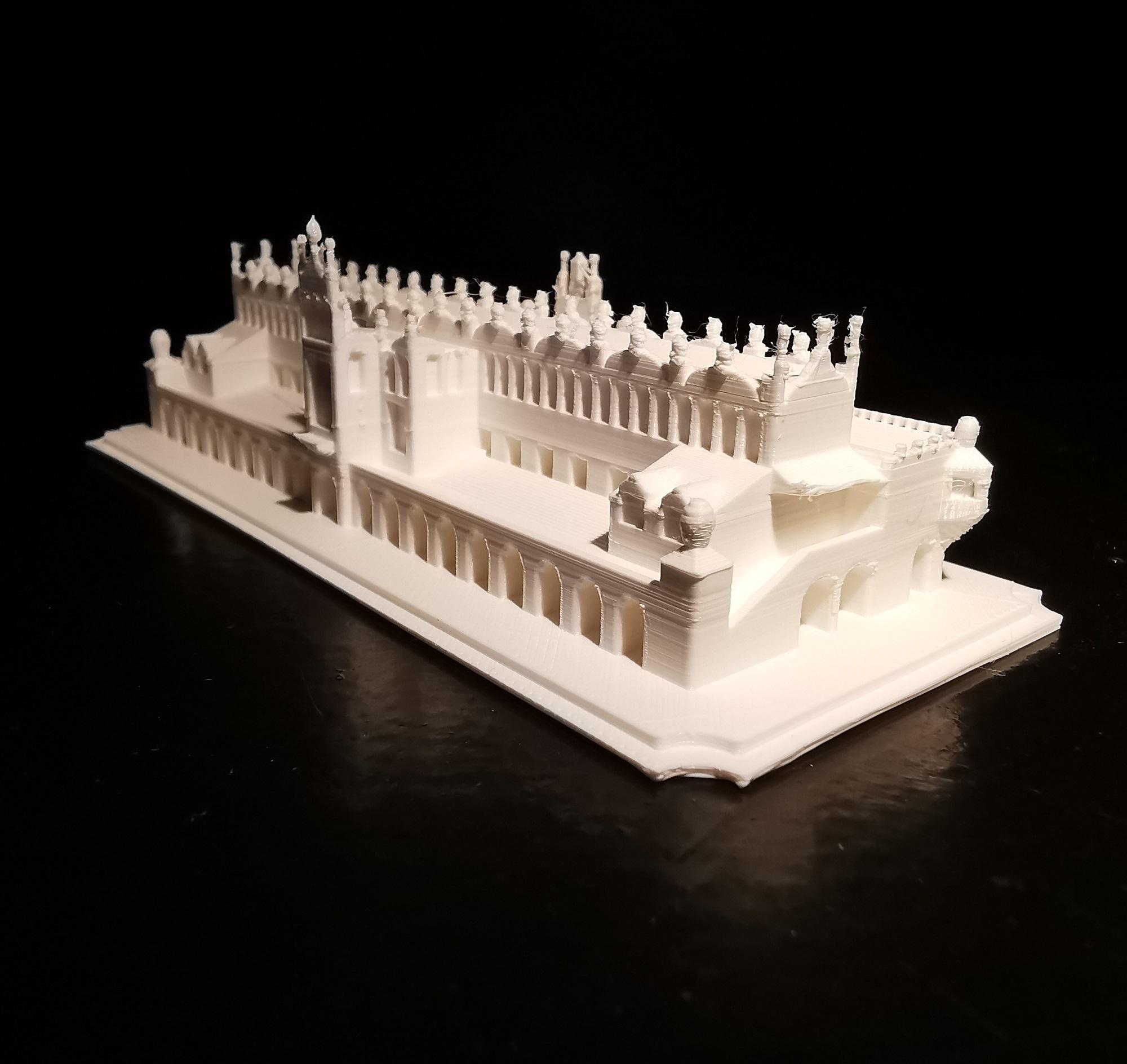 Sukiennice_04.jpg Download STL file Sukiennice - Kraków Cloth Hall • 3D printable design, eAgent