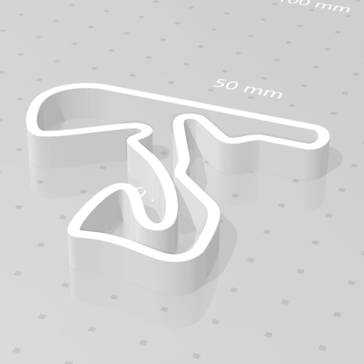 zandvoort_01.png Download STL file Circuit Zandvoort Dutch Grand Prix Formula One • 3D printable template, eAgent
