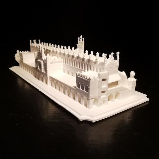 Sukiennice_01.jpg Download STL file Sukiennice - Kraków Cloth Hall • 3D printable design, eAgent