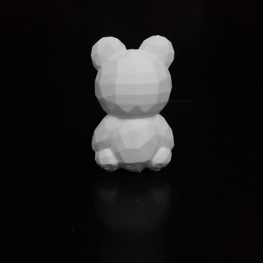 IMG_20200807_104455.jpg Download STL file Low poly Teddy bear • 3D print template, eAgent