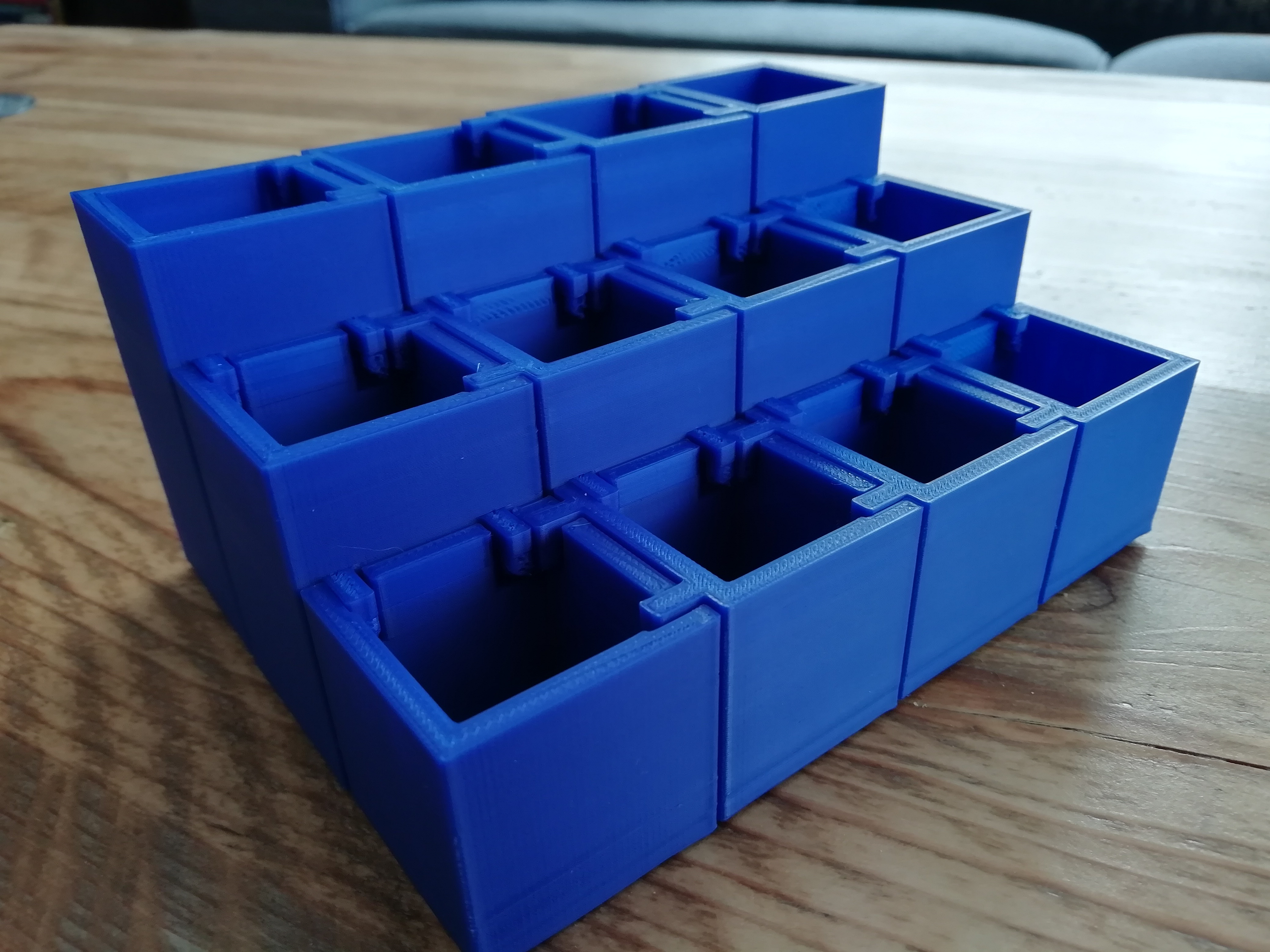 cubes_1.jpg Download STL file Make-up organizer • 3D print design, eAgent