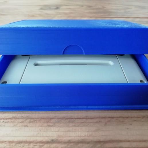 IMG_20200708_164133.jpg Download STL file SNES game cartridge holder • 3D printer design, eAgent