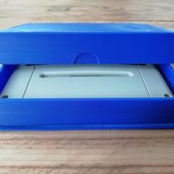 Descargar archivo STL Porta cartuchos de juego SNES • Objeto imprimible en 3D, eAgent
