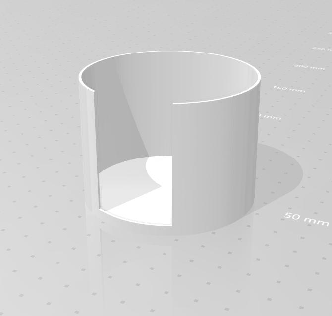 cotton pad holder_03.png Download STL file Cotton pad holder • 3D printing model, eAgent