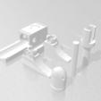 bullet parts.png Download STL file Bullet Bill launching platform • 3D printer model, eAgent
