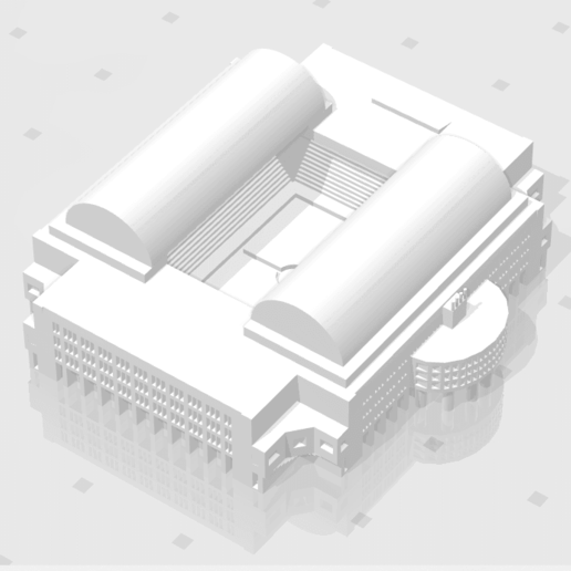 stadium_04.png Download STL file Football stadium Vitesse Arnhem • 3D printer object, eAgent