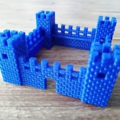 castle_01.jpg Download STL file Castle • Model to 3D print, eAgent