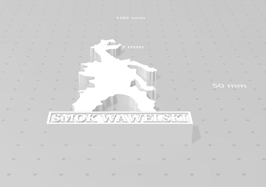 smok_01.png Download STL file Smok Wawelski • 3D printer model, eAgent