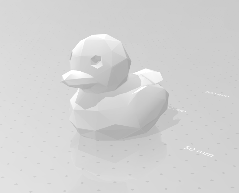 duck_01.png Download STL file Low poly duck • 3D print design, eAgent