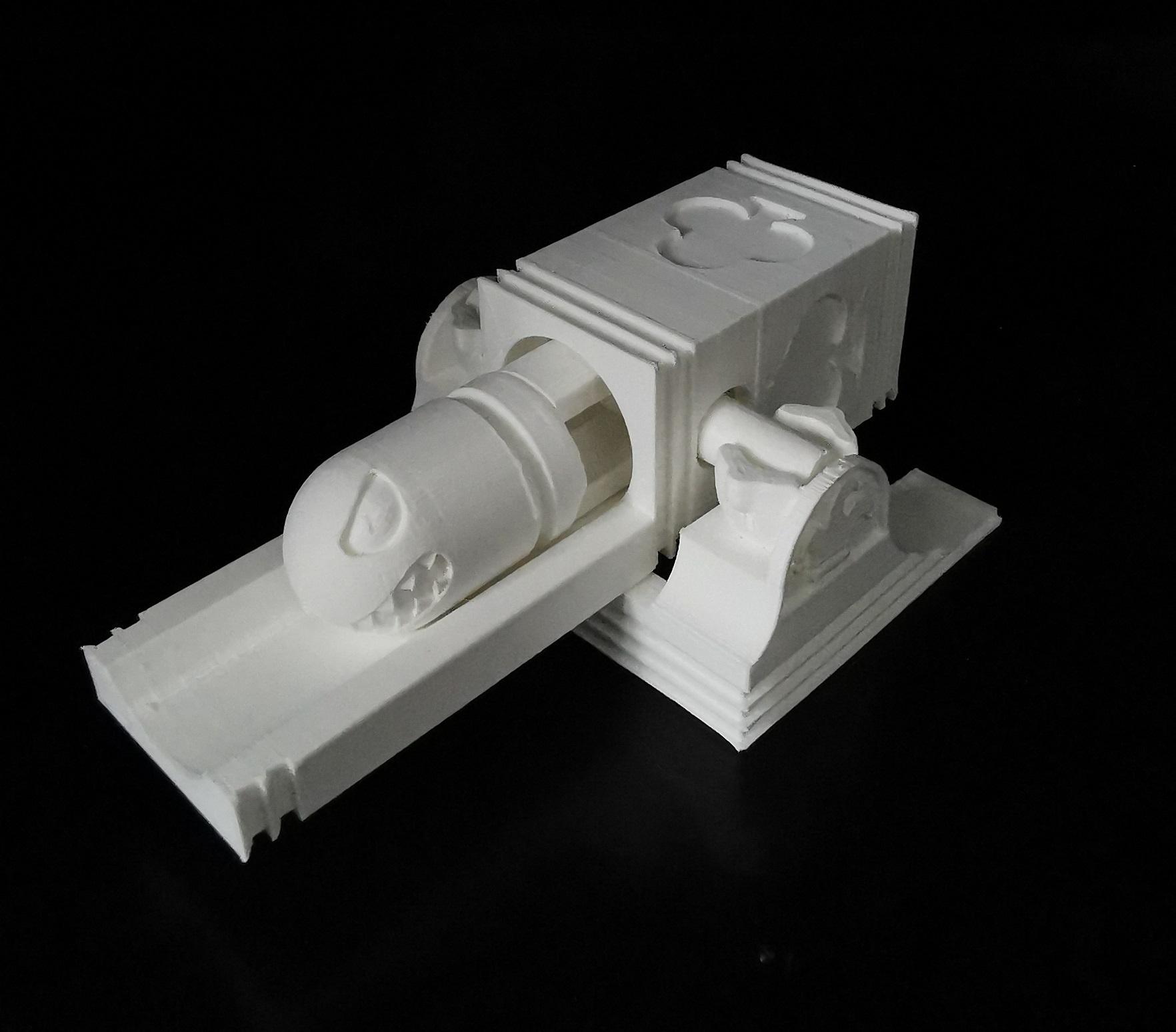 bullet_01.jpg Download STL file Bullet Bill launching platform • 3D printer model, eAgent