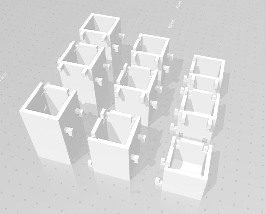 cubes_03.png Download STL file Make-up organizer • 3D print design, eAgent